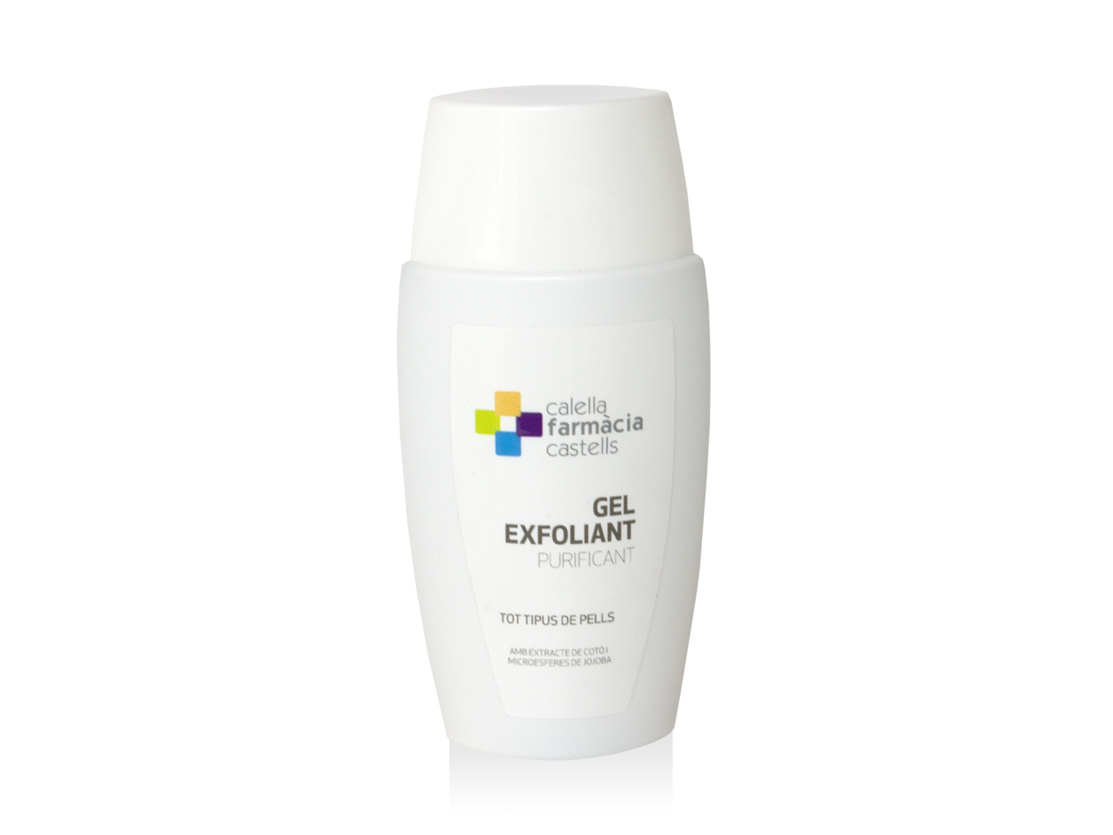 Gel exfoliant purificant